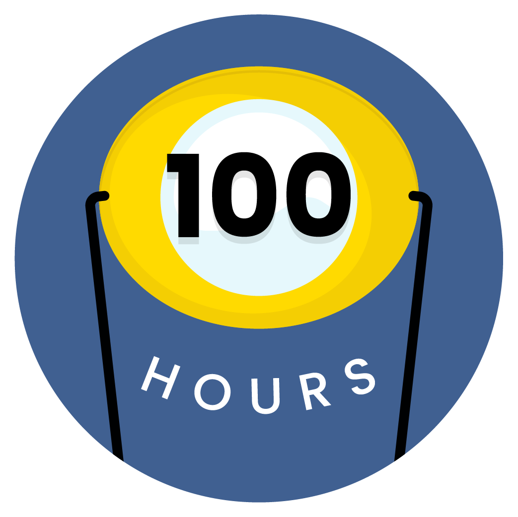 100 hours